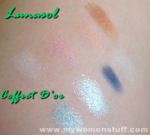 lunasol coffret d'or swatch