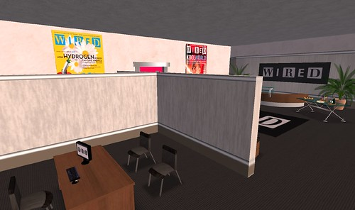 Wired magazine headquarters in Second Life