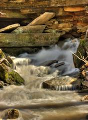 Buttermilk Falls (mathewballard) Tags: water waterfall falls hdr highdynamicrange buttermilk beginnerdigitalphotographychallengewinner twiphdr