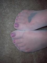 69 (feet_man18) Tags: feet stockings socks bea femalefeet