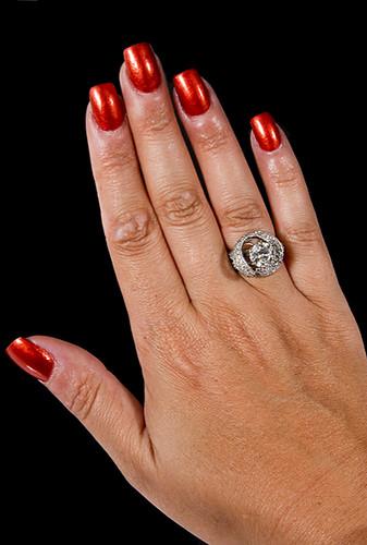 Hand w/Diamond