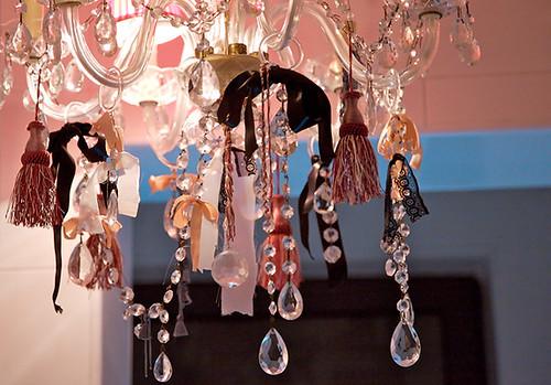 MLV bath chandelier