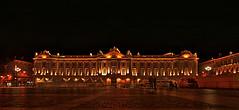 Capitole par nuit (chantrybee) Tags: france night lights lumiere toulouse nuit mairie capitole lavillerose placeducapitole