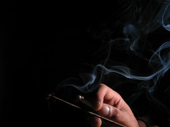 Cigarro + Incienso = ([p.thiers]) Tags: chile hand smoke cigar humo cigarro osorno incienso pthiers philippethiers