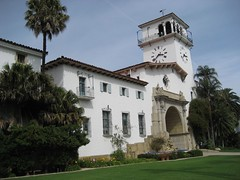 The historic Santa Barbara County Courthouse. (05/03/2008)