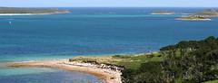 Bar Point, The Scilly Isles (Jurek Biegus) Tags: greatbritain sea landscape boats cornwall stmarys aerialphotograph theatlantic thescillyisles barpoint