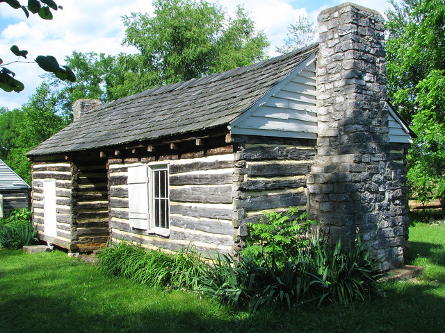 Slave quarters with dogtrot