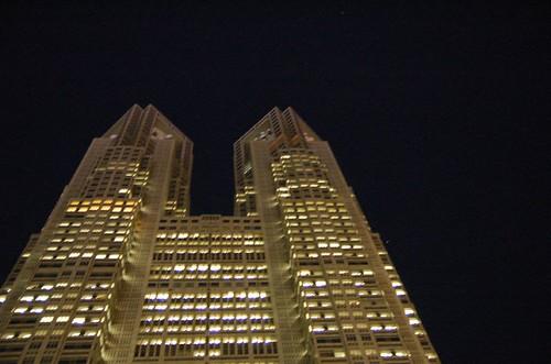 夜 東京都廳