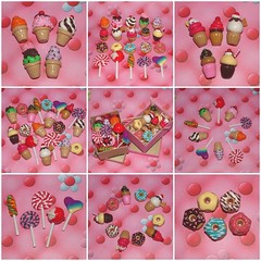 20X sweets sculpted motifs (polymer clay) (yifatiii) Tags: ceramica studio pc keychain candy handmade charm polymerclay fimo biscuit cupcake clay icecream donut doughnut sweets icing sculpey swirl etsy lollipop sucker sculpted kato polymer plastica premo polyclay arcilla ceramicaplastica pastesintetiche coldporcelain polimerica prosculpt sewingpins arcillapolimerica arcillaspolimericas arcillaspolimricas porcelanaenfro yifatiii liquidpolymerclay porcelanaenfrio yugeta