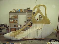 Melissa + Zaha Hadid Boot making of (Casa Darwin) Tags: scale boot design casa model galeria large darwin melissa jelly prize arquitecture zaha hadid pritzker plasticdreams