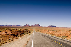 Monument Valley from Mile Marker 13 (westendted) Tags: usa utah roadtrip monumentvalley d80 nikon1224 nikond80 milemarker13