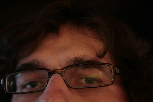 Guz's eyes