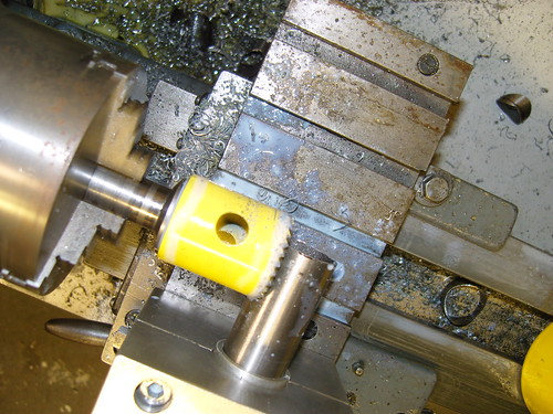 mitering on the lathe