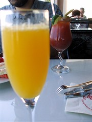 belated birthday mimosa