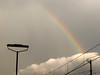 arcobaleno in stazione