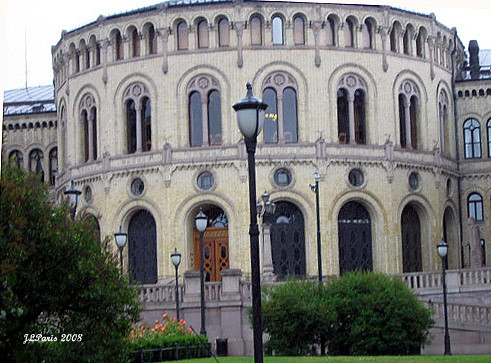 Oslo-Stortinget-Norweigan Parliament