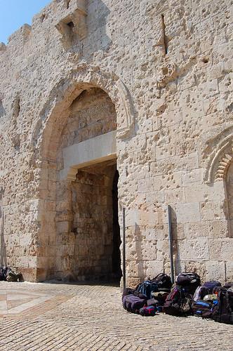 Zion Gate,   יְרוּשָׁלַיִם Jerusalem 耶路撒冷