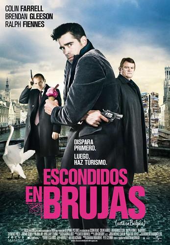 Escondidos en Brujas Colin Farrell Brendan Gleeson Ralp Fiennes