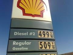 Gasolina nos EUA