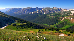 Colorado Mountain Pride (Fort Photo) Tags: park blue wild summer sky mountain mountains nature landscape rockies us nikon highway nps diagonal ridge trail alpine national valley rockymountains rmnp geology wilderness peaks 169 range 34 rockymountainnationalpark larimer d300 rockcut trailridge bej impressedbeauty holidaysvacanzeurlaub goldstaraward
