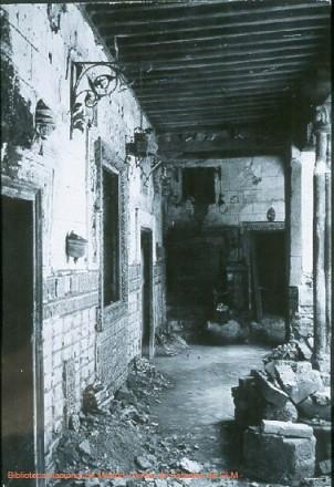 Palacio de Benacazón durante la Guerra Civil, Toledo, España
