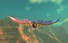 Flight at Dawn (Maiyya) Tags: wow landscape dawn scenery flight worldofwarcraft horde windrider azeroth bloodelf koinup Koinup:Username=maiyya Koinup:WorkID=53511
