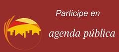 participe en agenda publica