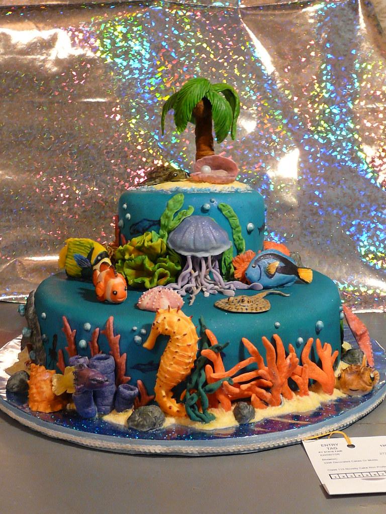 Cake Decoration Sea Theme : OCEAN CAKE DECORATING