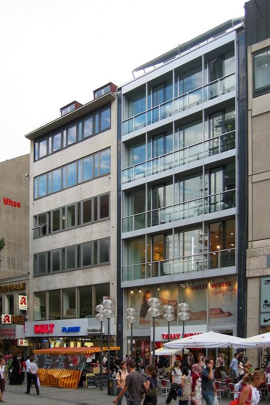 Geschäftshaus Dr. H. Ehrlicher (Sep Ruf, 1961-63)