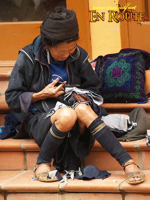 Sapa Old Hmong Tailor