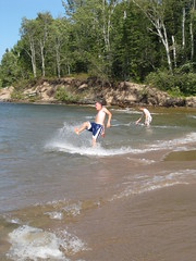 Uh Oh (bccarlso) Tags: beach skimboarding miserybay