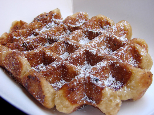 Freshly Baked Liege Waffle