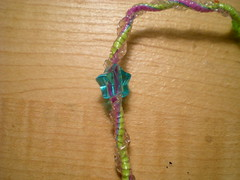 Chinese Staircase (Mimi Kickass) Tags: gimp boondoggle scoubidou scoubies craftlace