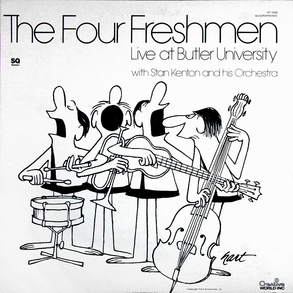 Four Freshmen - Johnny Hart cover