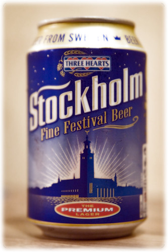 Stockholm Fine Festival Beer Can From Sweden