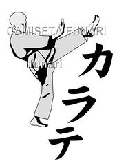 desenho lutador karate nome japones