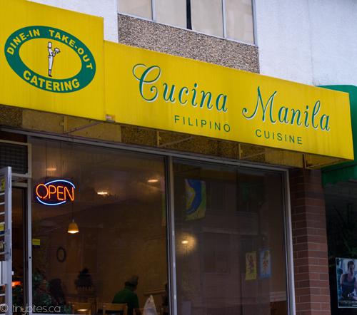 Cucina Manila: storefront