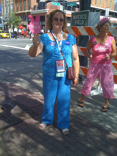 Sue Allen, Peace Delegate from Ohio