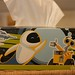 Wall-E and Eve (on a Kleenex box)