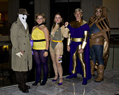 And Even More Watchmen (Cayusa) Tags: vacation rorschach watchmen dragoncon ozymandias thewatchmen nightowl dragoncon2008 silkspectre thefirstsilkspectre thesecondsilkspectre bsmntdc2008