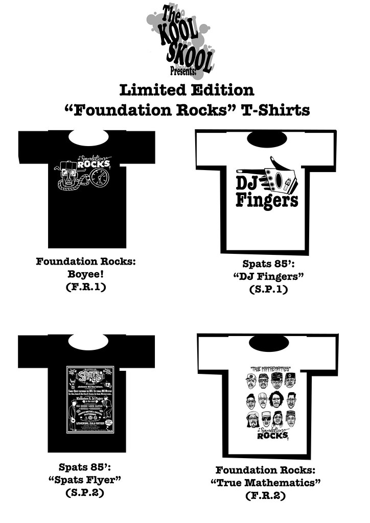Limited Edition Kool Skool T-Shirts For Sale!