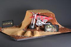 dirtbike (sugar-blossom) Tags: cake dirtbike sugarcouture metalmulitia