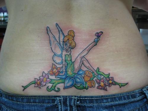 tinkerbell tattoo