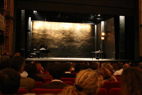 Pièce Master Class au Théatre de Paris avec Marie Laforêt sur La Callas