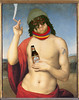 Bacco, tabacco e venere.... Bacchus, Tobacco and Venus... original painting by