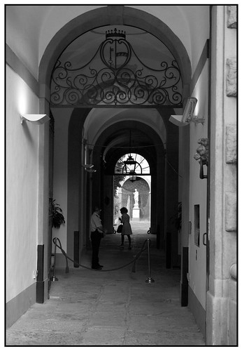 Florence is a Series of Corridors and Passageways