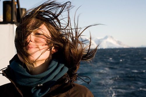 KT Tunstall onboard an expedition studying the effects of global warming