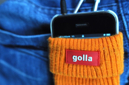 golla MOBILE CAP orange