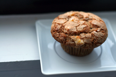 Spiced Apple and Sour Cream Muffins