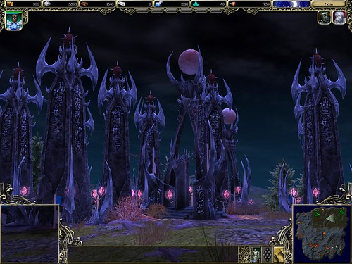 dark elf towers